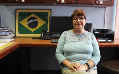 """Ana Damasceno: """"…tenemos acceso a diferentes idiomas y es importante que la gente los conozca, no solo en el aspecto académico, también en la parte cultural. Creo que al conocer otras culturas nos podemos volver más tolerantes con los demás."""""""